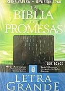 Imagen La Biblia de Promesas Letra Grande - Piel Especial Dos Tonos Negro