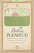 Imagen Biblia Plenitud - Imitación Piel Verde Olivo