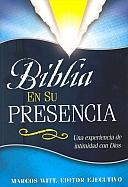 Imagen Biblia En Su Presencia - Tapa Dura