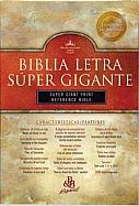 Imagen Biblia Letra Súper Gigante con Referencias - Piel Especial Color Vino