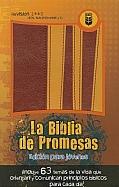 Imagen La Biblia de Promesas (Edición para Jóvenes) - Piel Especial Dos Tonos