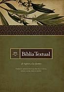 Imagen Biblia Textual - Piel Fabricada Color Negro Con Indice