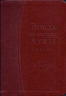 Imagen Biblia de Estudio Ryrie Ampliada - Marron Duo Tono