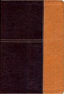 Imagen Biblia de Referencia Thompson - Piel Italiana Rojo Obscuro/Café