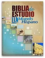 Imagen Biblia de Estudio Mundo Hispano - Piel Europea Rojiza