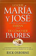 Imagen Lo que María y José sabían (o no) de como ser padres