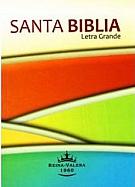 Imagen Santa Biblia Letra Grande - Rustica Tamaño Chico