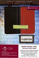 Imagen Biblia de Referencia Thompson - Piel Italiana Marrón/Terracota
